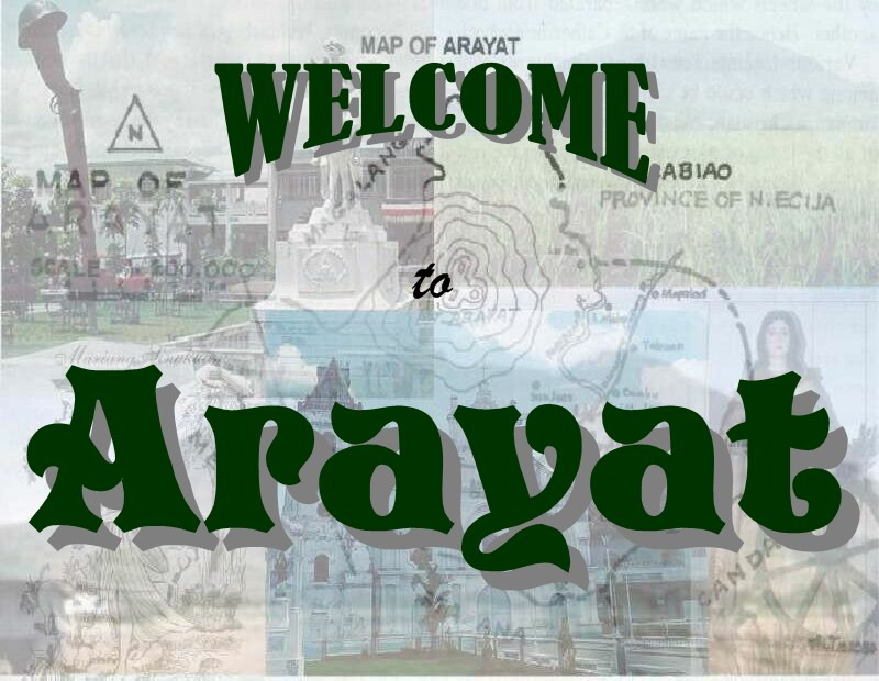 Welcome To Arayat