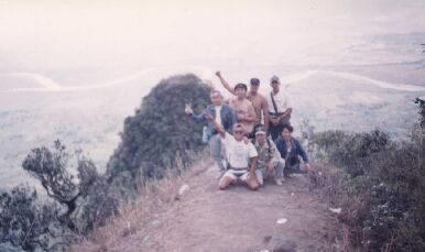 Lost Boys At the Summit - Overlooking Pampanga River
